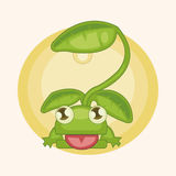 Design frog lamp style theme elements vector,eps. Vector illustration file Royalty Free Stock Image