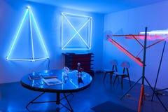 Design furniture at Miart 2014 in Milan, Italy Stock Photos