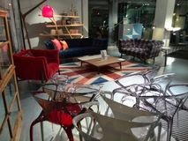 Design furniture shop in Walton on Thames Royalty Free Stock Photography