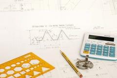 Design of gear Stock Image