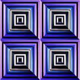 Design of geometrical figures Stock Photo