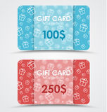 Design gift cards Royalty Free Stock Photo