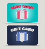 Design gift cards Stock Image