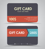 Design gift cards Royalty Free Stock Photography