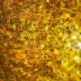 Design on gold glittering background. EPS 10 Royalty Free Stock Image
