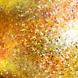 Design on gold glittering background. EPS 10 Stock Image