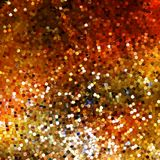 Design on gold glittering background. EPS 10 Stock Photos