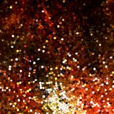 Design on gold glittering background. EPS 10 Stock Photography