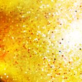 Design on gold glittering background. EPS 10 Royalty Free Stock Images