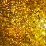 Design on gold glittering background. EPS 10 Royalty Free Stock Image