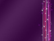 Design Graphic. Linear Design Graphics Luminescent Abstract Purple Background royalty free illustration