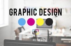 Design Graphic Creative Planning Purpose Draft Concept Royalty Free Stock Photo