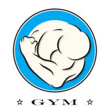 Design for gym and fitness Royalty Free Stock Photography