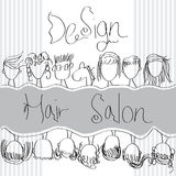 Design Hair Salon Royalty Free Stock Photography