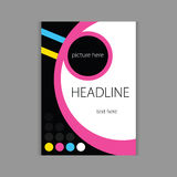 Design headline cover beauty vector Royalty Free Stock Photography