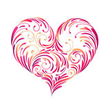 Design heart, vector Royalty Free Stock Images