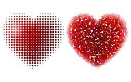 Design hearts Stock Photo