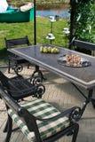 Design of home backyard Royalty Free Stock Image