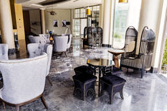 design hotel interior lobby Στοκ Φωτογραφίες