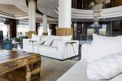 design hotel interior lobby Στοκ φωτογραφία με δικαίωμα ελεύθερης χρήσης