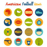 design icons of american football Stock Photo