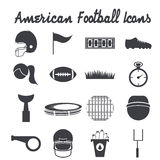 Design icons of american football Royalty Free Stock Photos