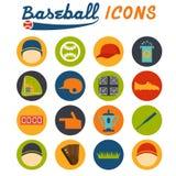 Design icons of baseball Royalty Free Stock Image