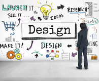 Design Ideas Create Planning Vision Concept Royalty Free Stock Image