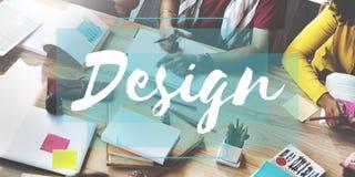 Design-Ideen-Kreativitäts-Gedanken-Fantasie-Inspirations-Plan Co Lizenzfreie Stockbilder