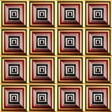 Design of illusory Royalty Free Stock Image