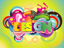Design illustration Stock Images