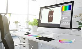design industriale 3d Fotografie Stock Libere da Diritti