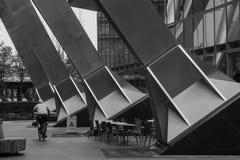 Design industriel d'un bâtiment dans la ville de Londres photo stock