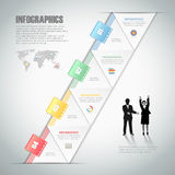 Design infographic template. can be used for workflow layout, diagram Royalty Free Stock Photography