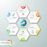 Design infographics 6 steps. Infographic template for business concept. Design infographics 6 steps. Infographic template, business concept infographic, can be stock illustration