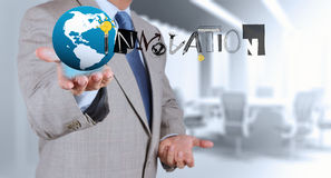 Design INNOVATION word as concept Stock Photo