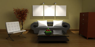 Design interior Royalty Free Stock Images