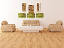 Design interior of elegance modern living room Stock Photo