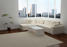 Design interior of elegance modern living room Stock Photography