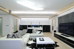 Design of interior. Living-room Stock Photography