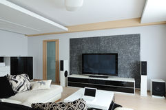 Design of interior. Living-room Royalty Free Stock Photography