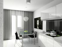 design interior modern Στοκ Φωτογραφία