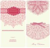Design invitation for merry Christmas vector Stock Photo