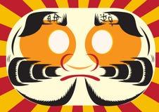 Design for Japanese backgrounds , illustration. Royalty Free Stock Photo