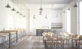 Design-Kaffeestube stockfotos