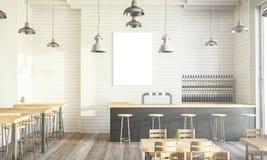 Design-Kaffeestube lizenzfreie stockbilder