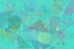 Design-Kunsthintergrund der abstrakten Form generativer Muster, die Beschaffenheit, gebürstet, unordentlich u. prägen Stockfoto