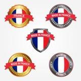 Design label of made in France. Vector illustration royalty free illustration