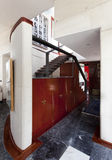Design ladder. In a house interior Stock Photos