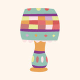 Design lamp style theme elements vector,eps. Vector illustration file Royalty Free Stock Photo